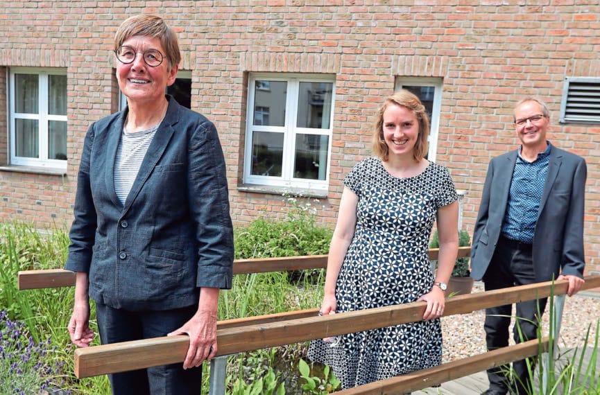 Foto vom Vorstand TelefonSeelsorge Bielefeld: © Neue Westfälische – Artikel vom 29.06.2020