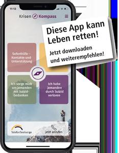 KrisenKompass App – diese App kann Leben retten